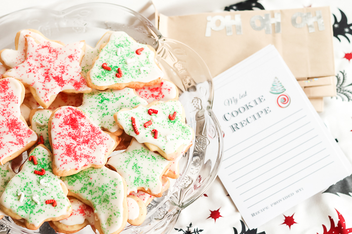 Exchange cookie recipes with these fun and FREE Cookie Exchange Party Printables