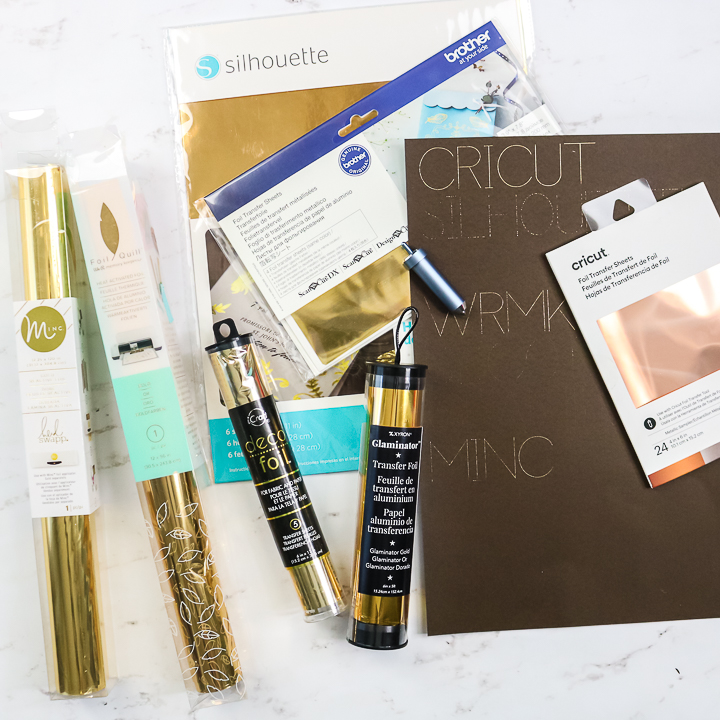 which foil works with a cricut