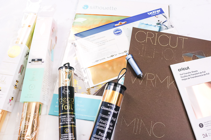 which foil brands work with cricut tool