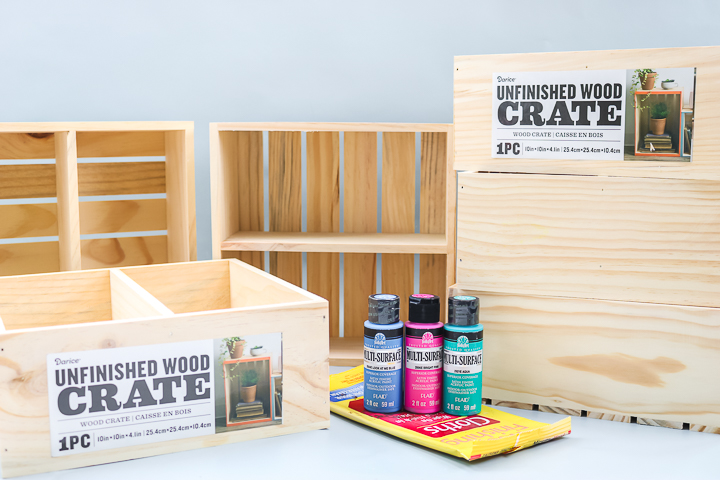 supplies to make an organizer for a cabinet