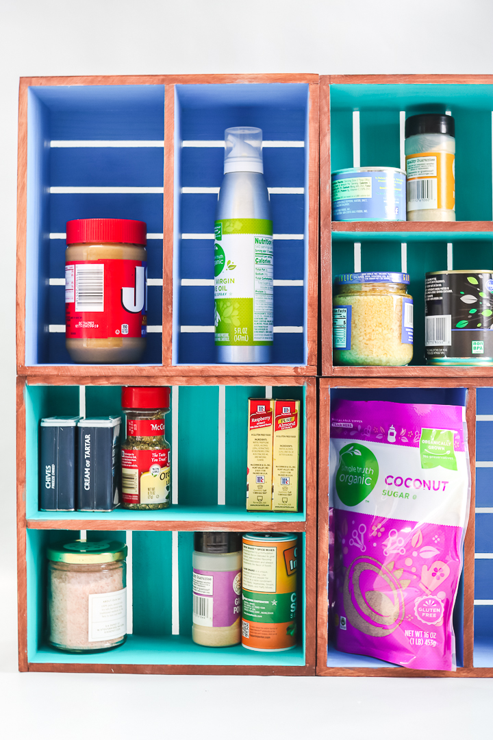 how to make an organizer for your cabinets