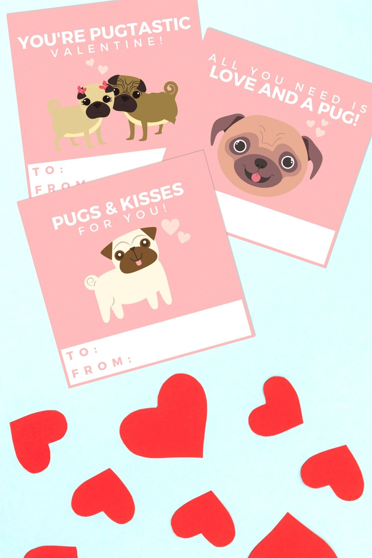 dog valentines day cards