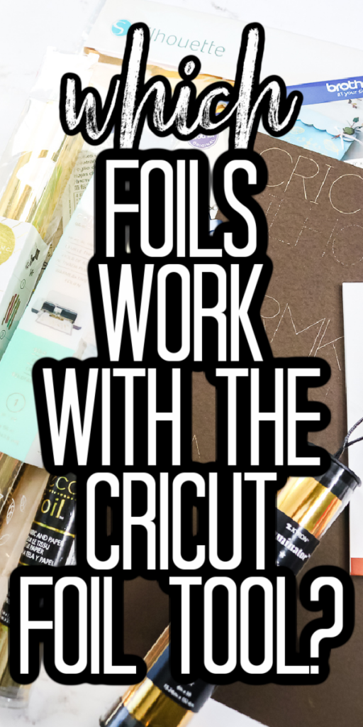 We are conducting a foil brand comparison with the Cricut foil tool so you can see which foils will work with a Cricut and which will not! #cricut #cricutmade #cricutcreated #cricutfoil