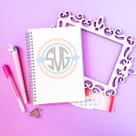 Free Monogram Frame SVG plus 11 More Monogram Files