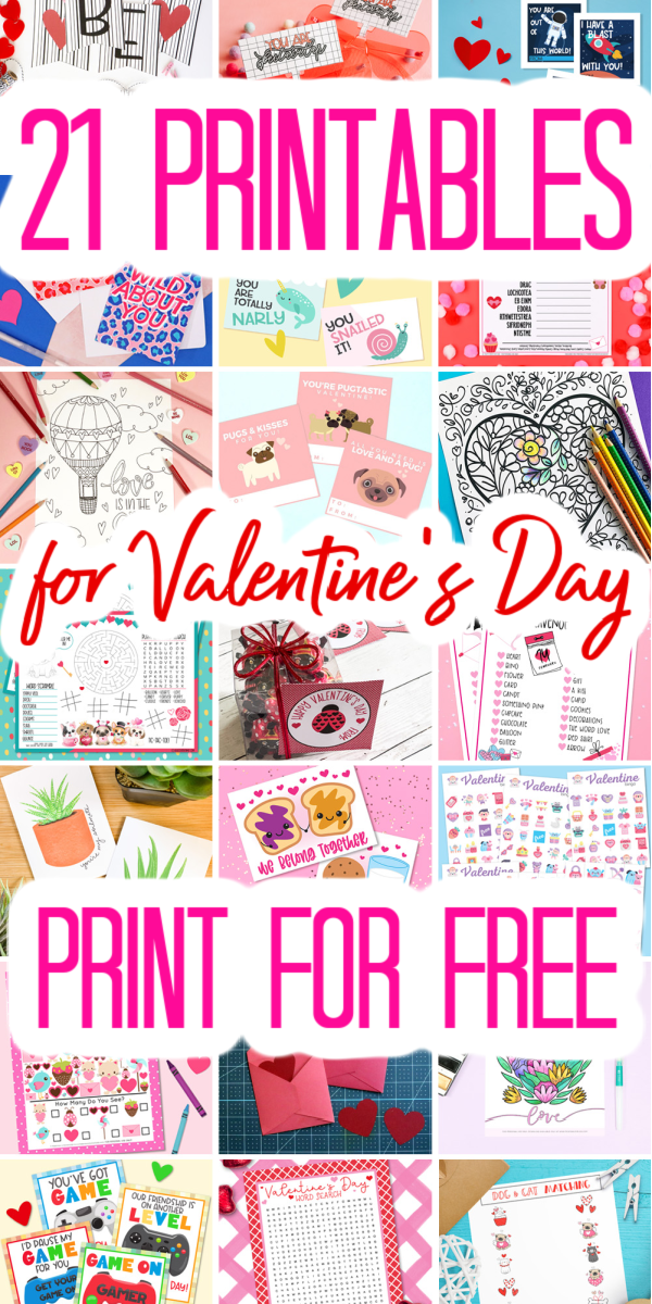 free printables for valentines day