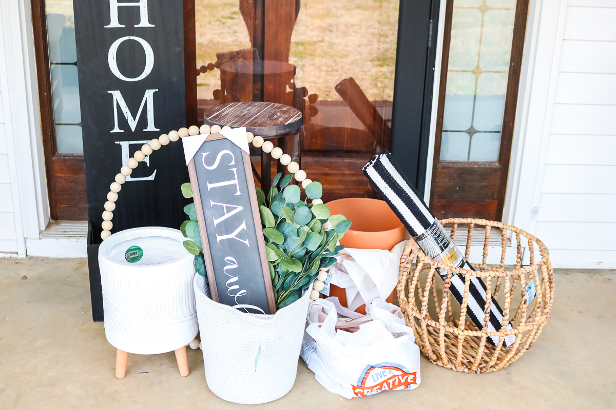 spring porch supplies from hobby lobby