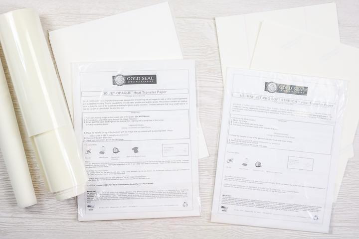 brands of heat transfer paper