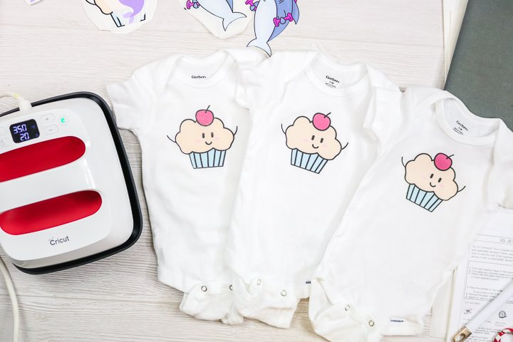 onesies made with heat transfer paper