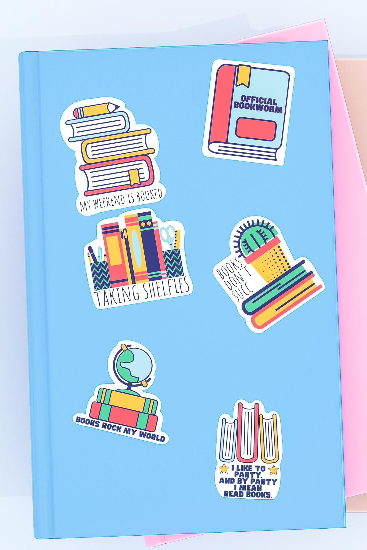 free printable reading stickers