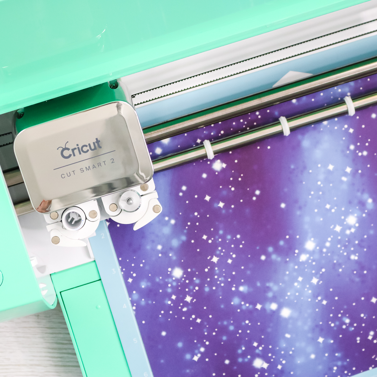 cutting galaxy infusible ink transfer sheet