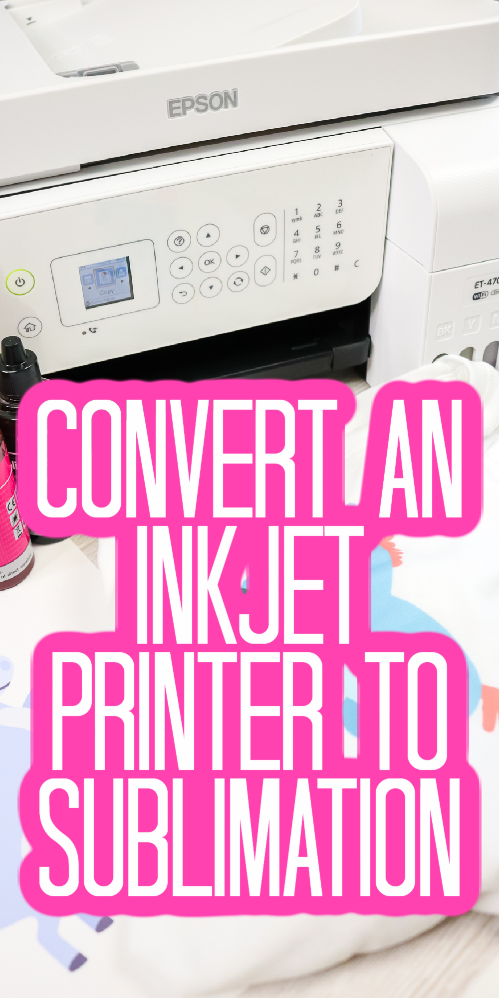 converting inkjet printer to sublimation