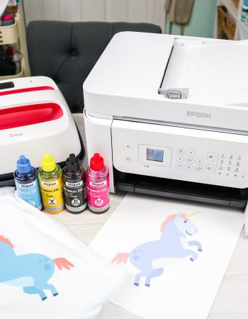 inkjet printer converted for dye sublimation
