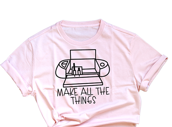 make all the things tshirt