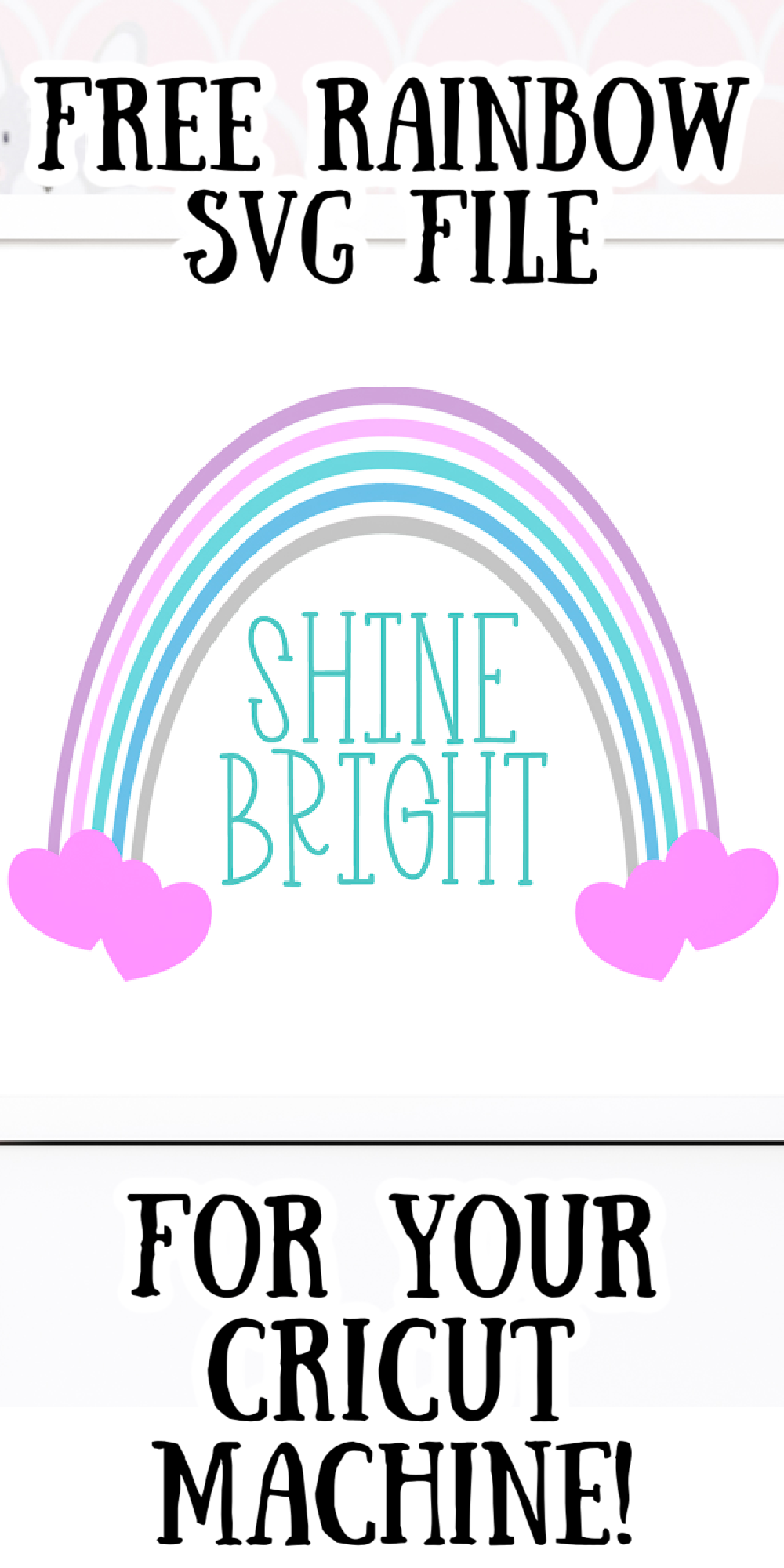 free rainbow svg file
