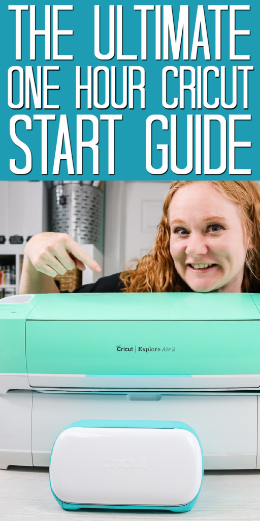 one hour cricut start guide