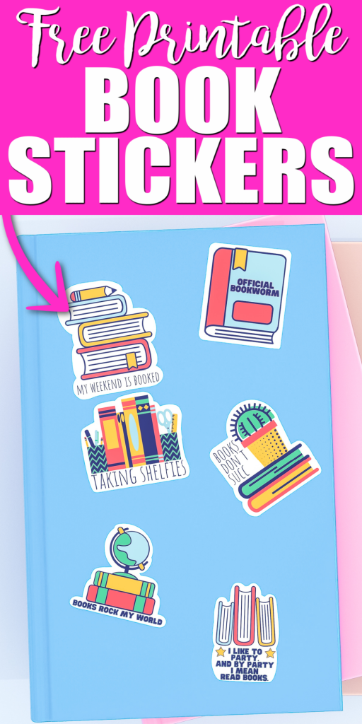 printable book stickers