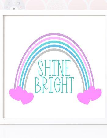 shine bright svg