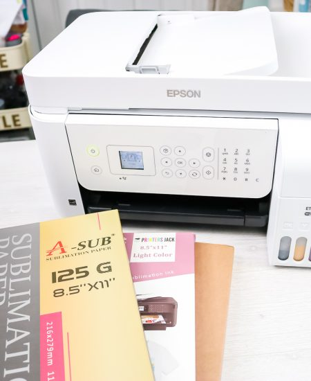using various sublimation papers to compare quality