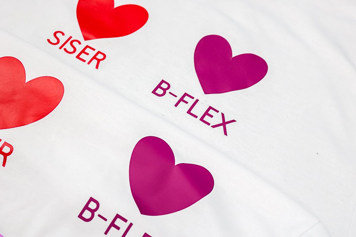 how long does b-flex htv last
