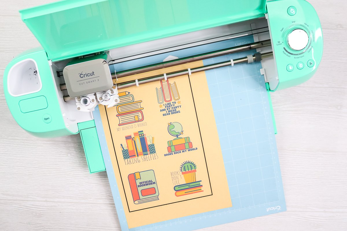 cutting kraft sticker paper