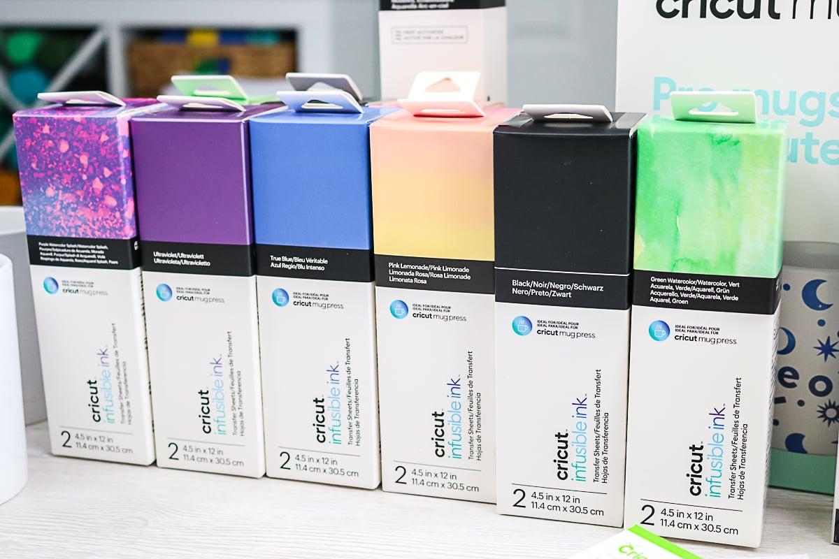 infusible ink sheets for mug press