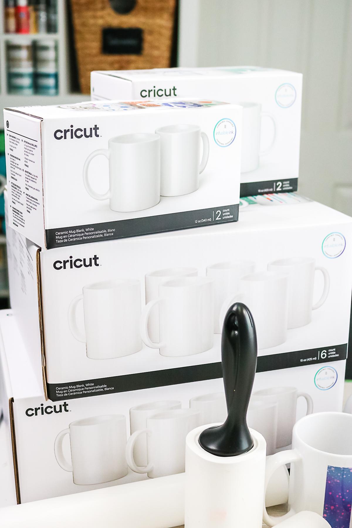 cricut mugs in a box