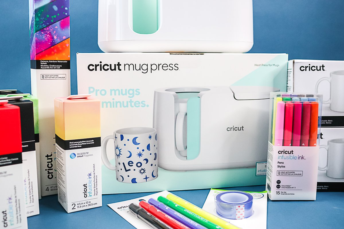 box for cricut mug press