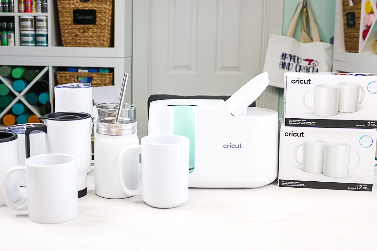 sublimation blanks that work in the cricut mug press