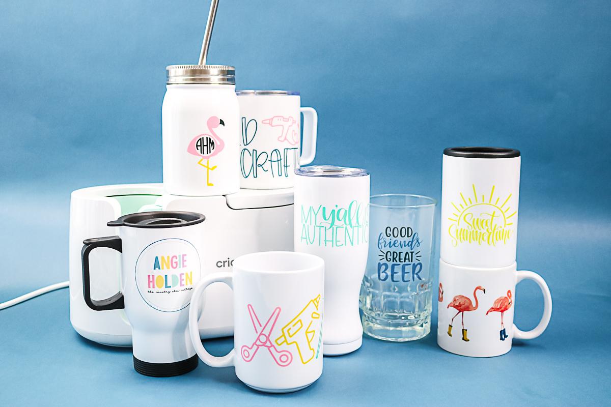items made in the cricut mug press