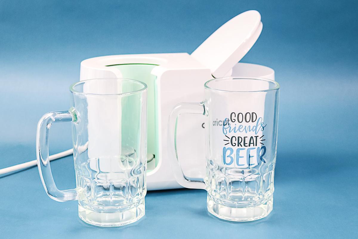 glass beer mug sublimation blank