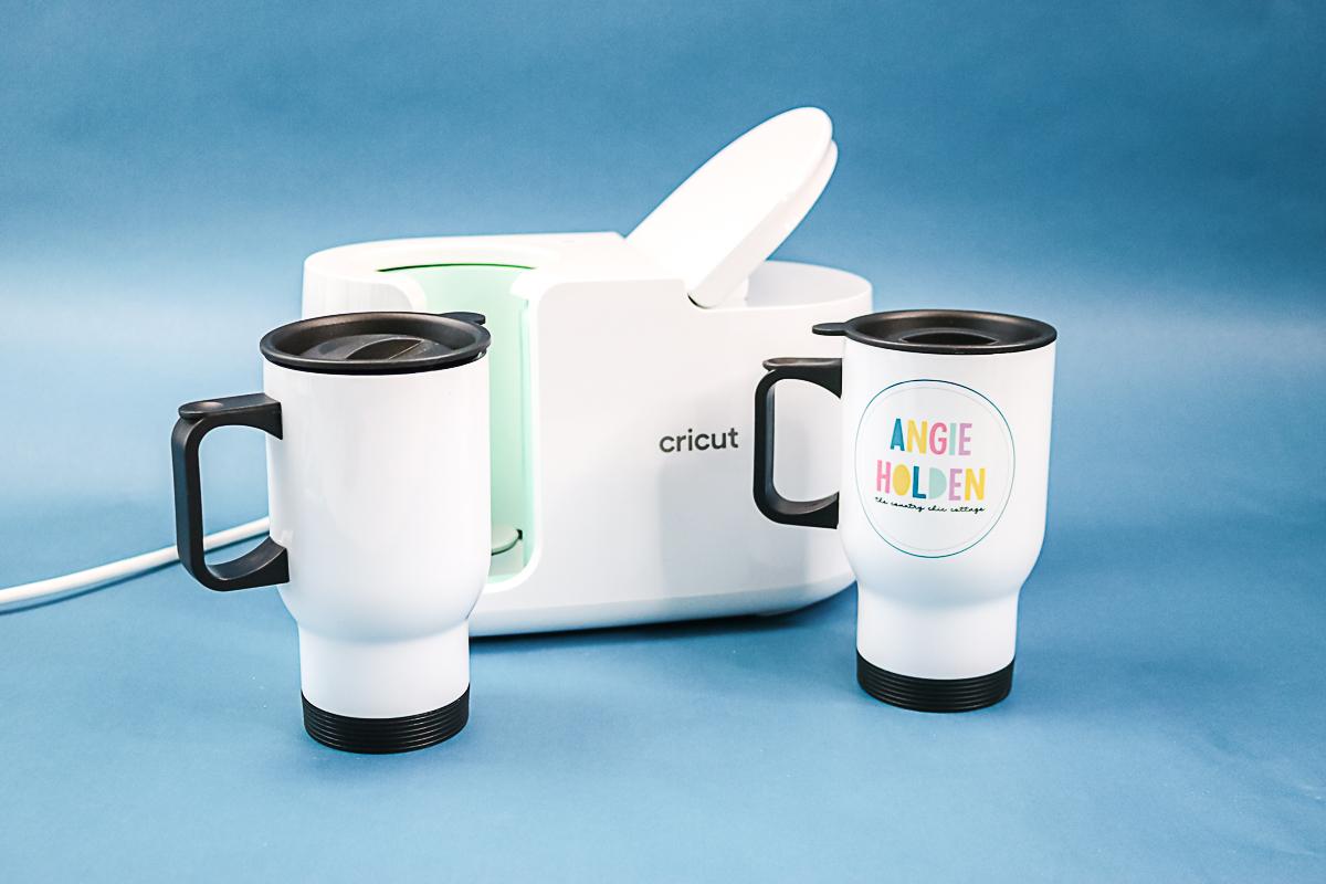 sublimation tumbler with the cricut mug press