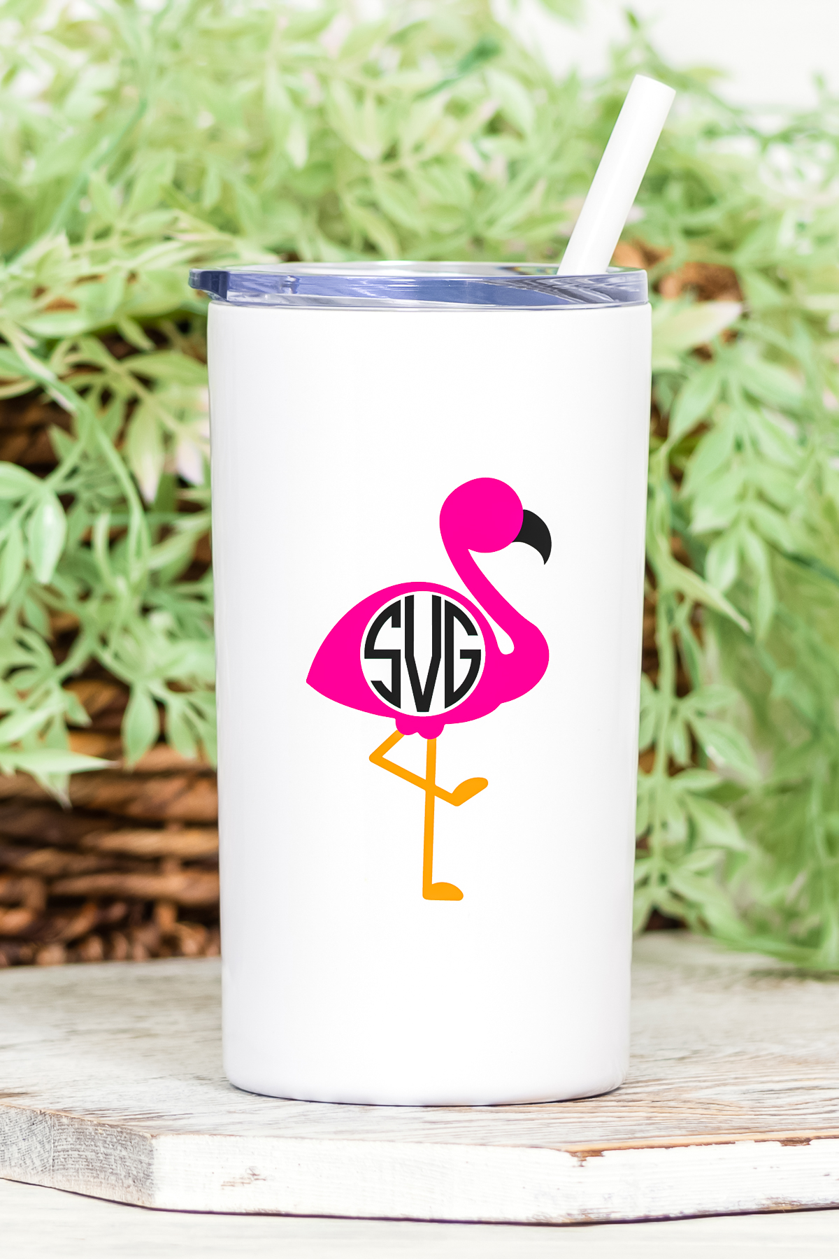 free flamingo cut file