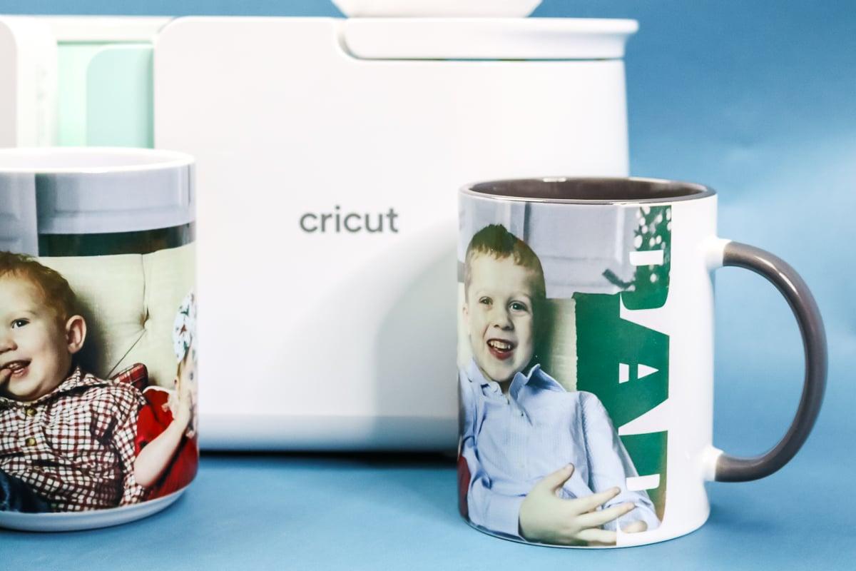 template used to make a sublimation mug