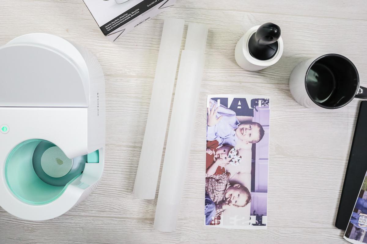 sublimation print ready for a mug
