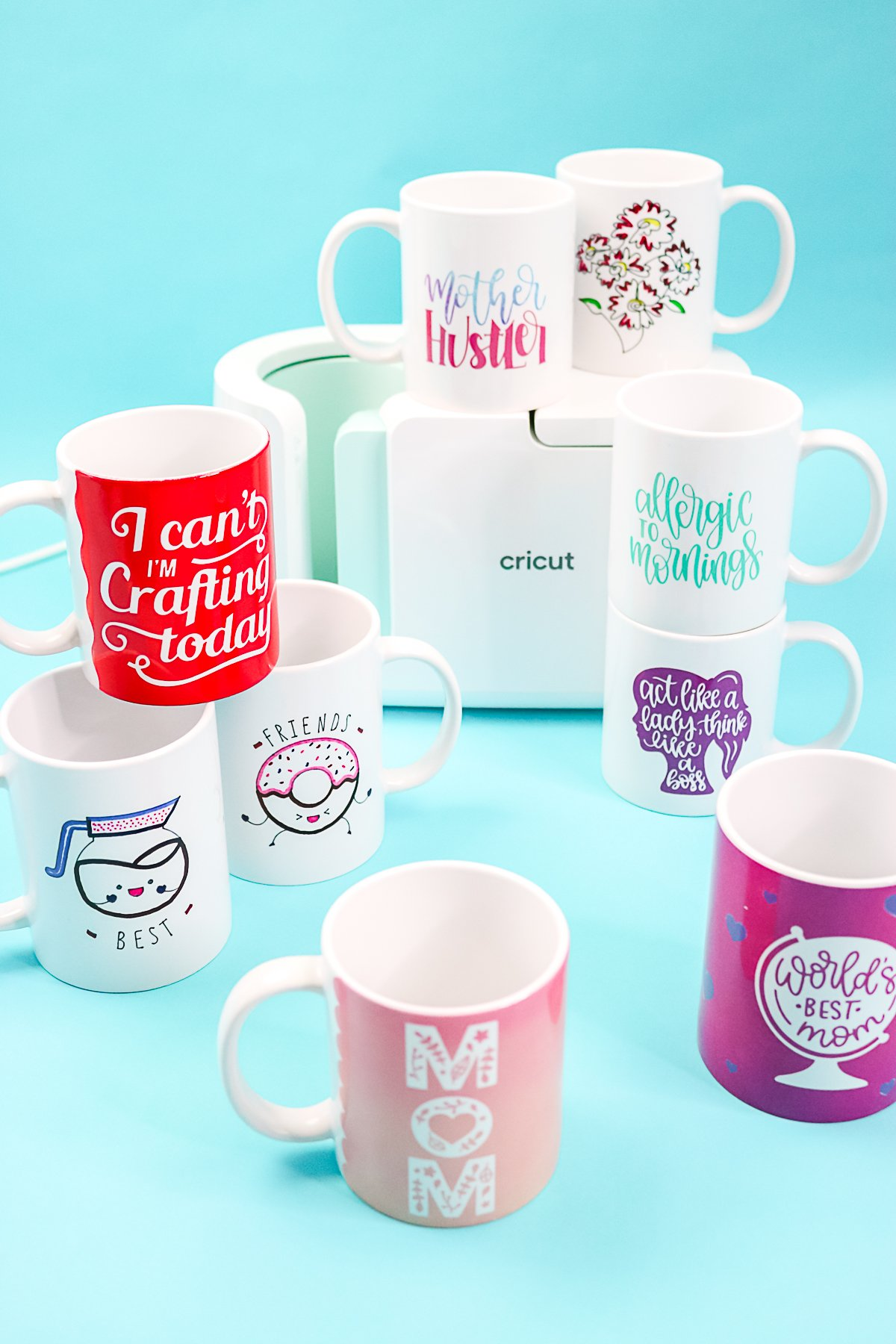 mugs made with infusible ink