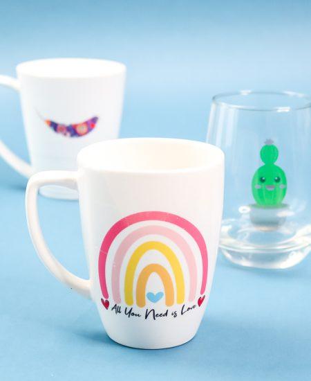 printed images on mugs