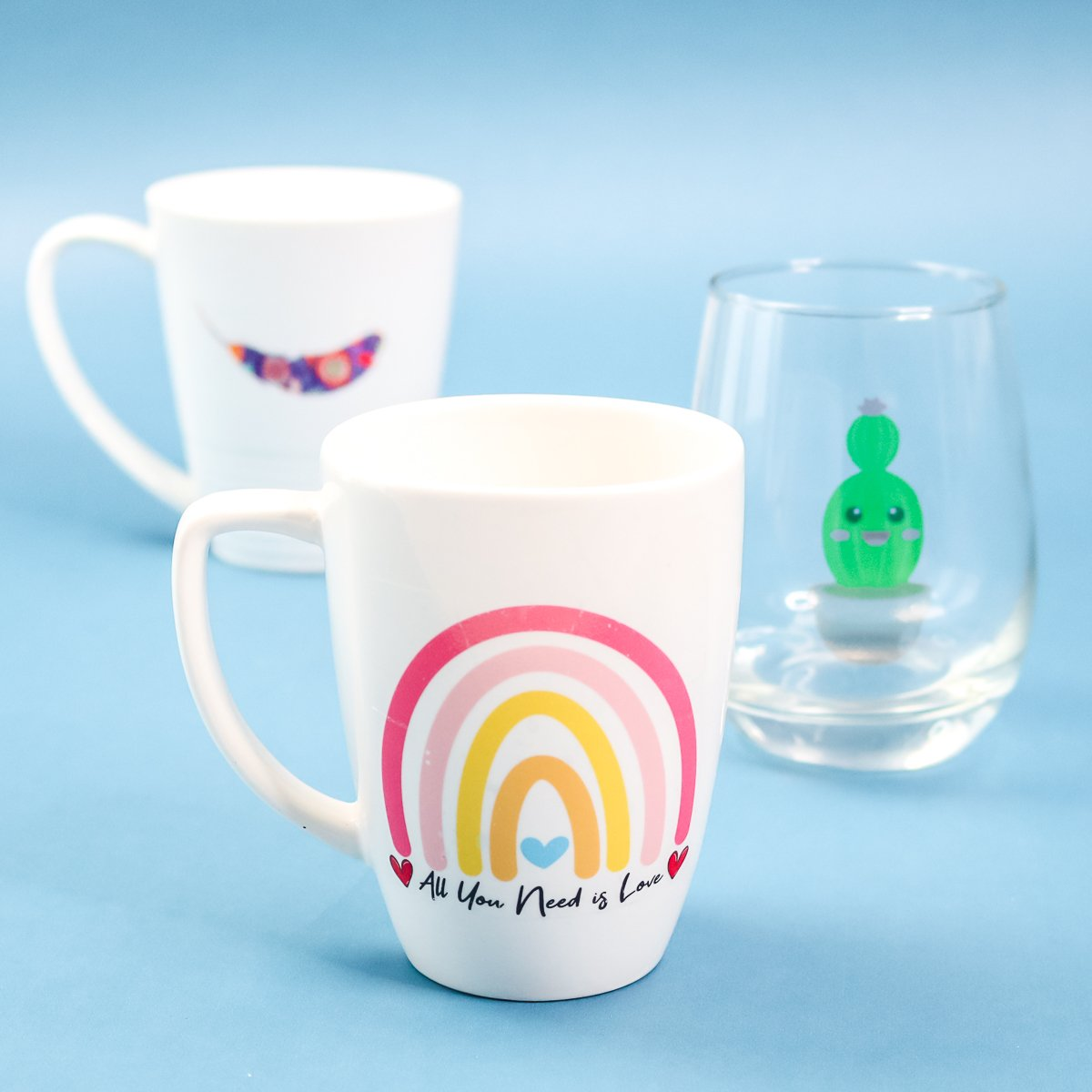 printed images on mugs