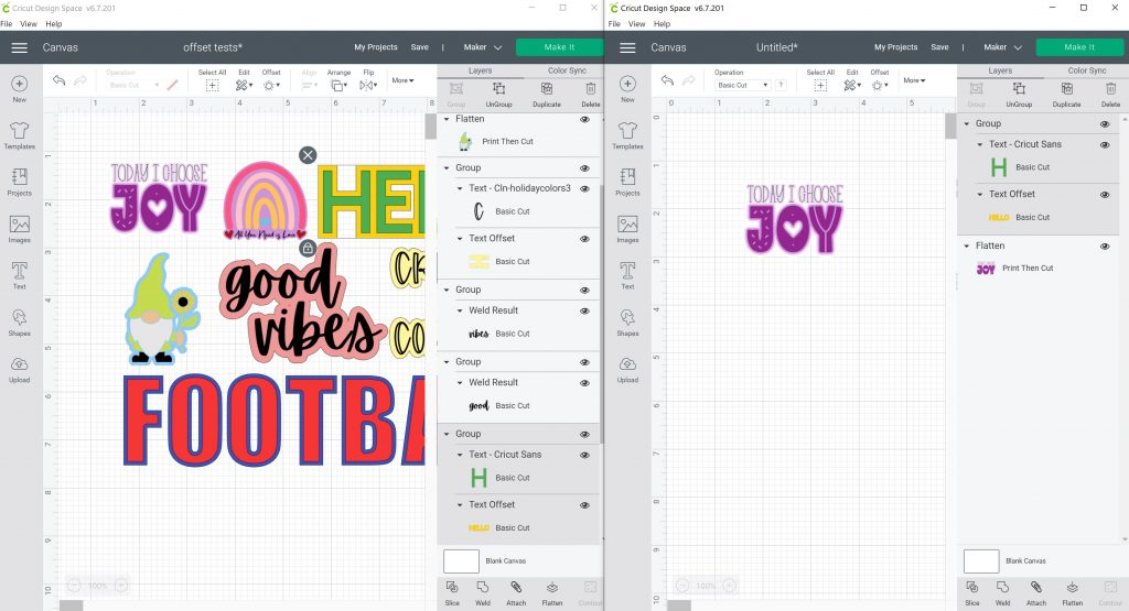 copying layers in design space