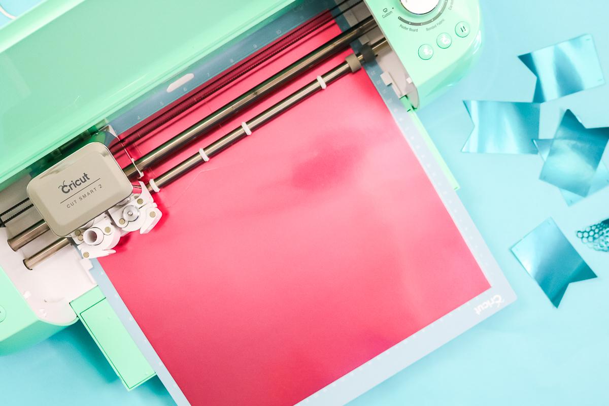 cutting foil paper with a cricut machine