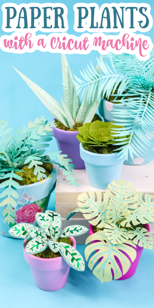 cricut plants from paper