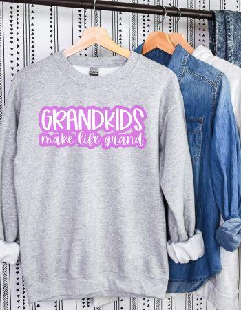grandkids make life grand svg