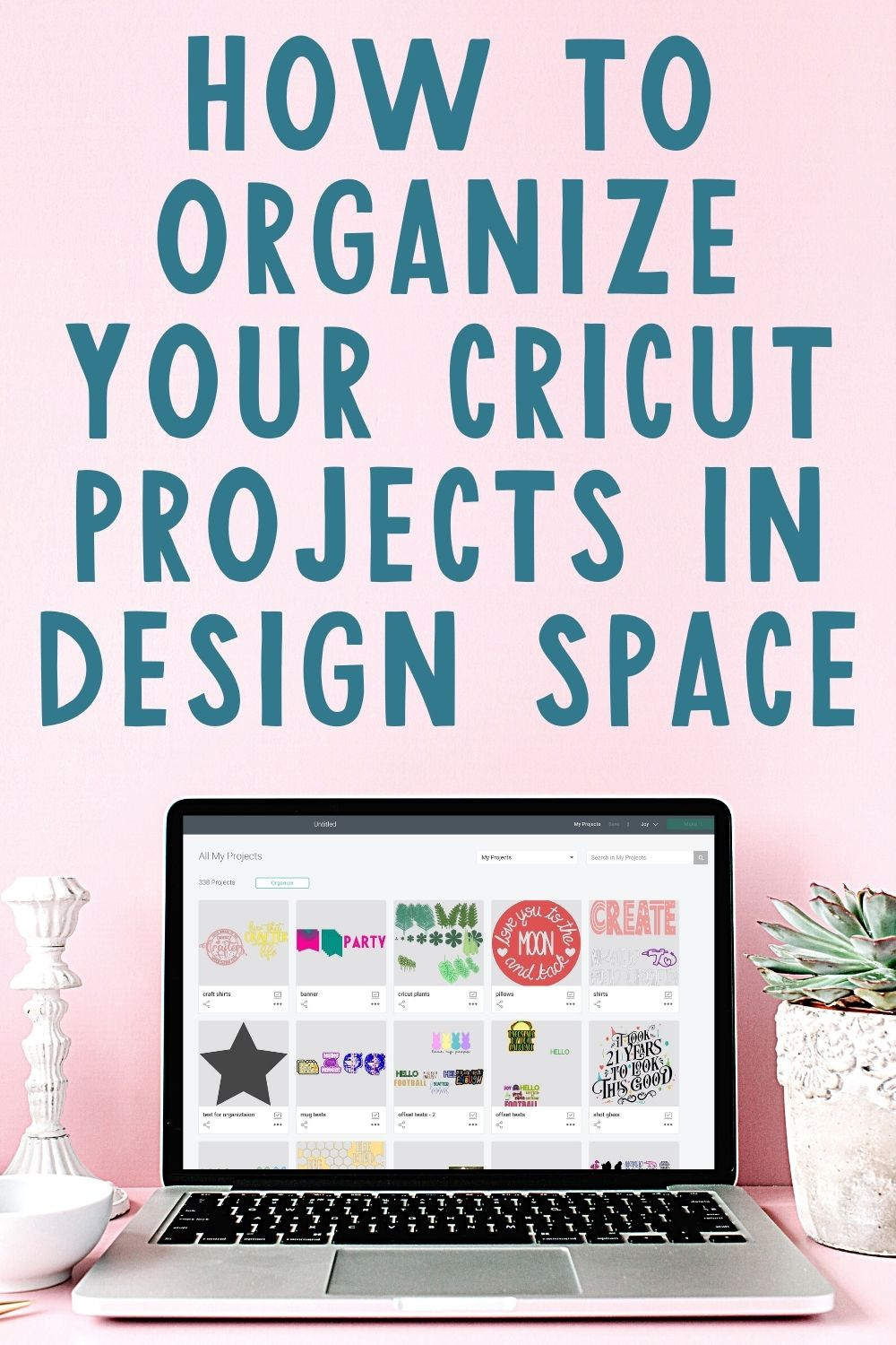 how to organzie your projects with project collections in cricut design space