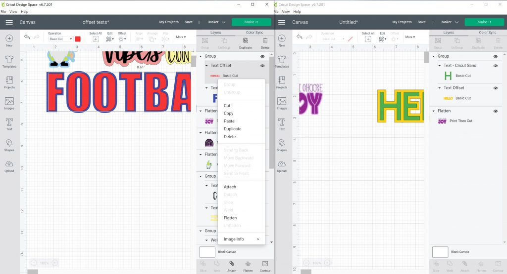 moving one layer in a group in design space