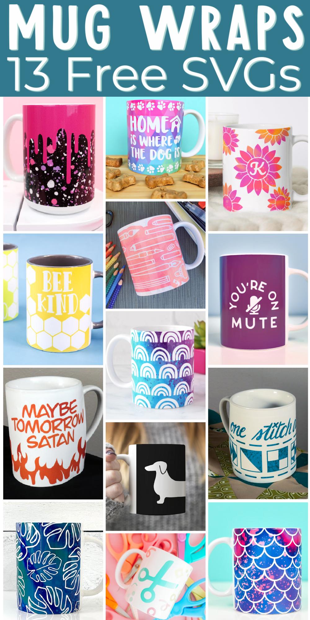 sublimation mug designs