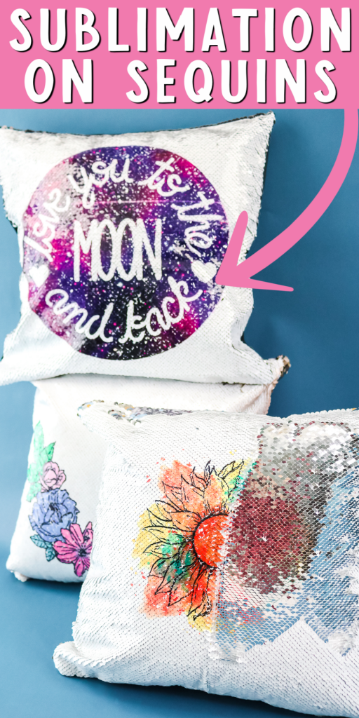 sublimation on sequins