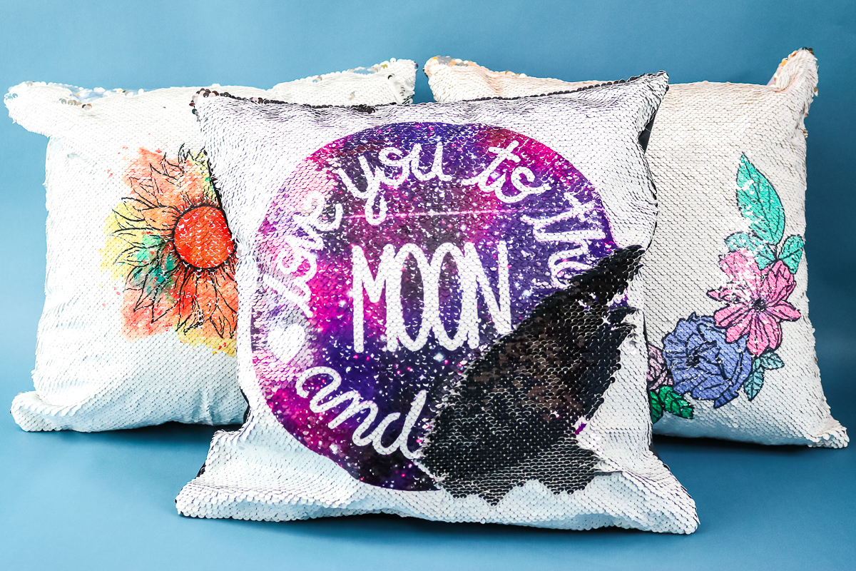 infusible ink pillow cover