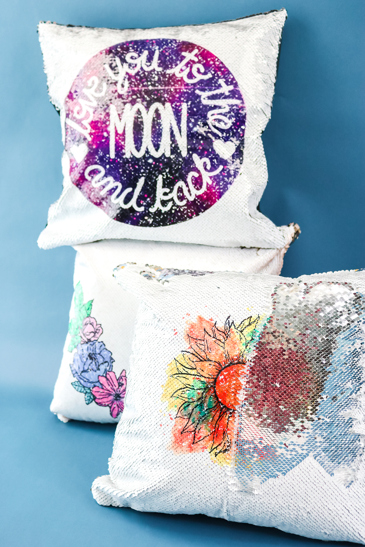 how to add a design to sequins