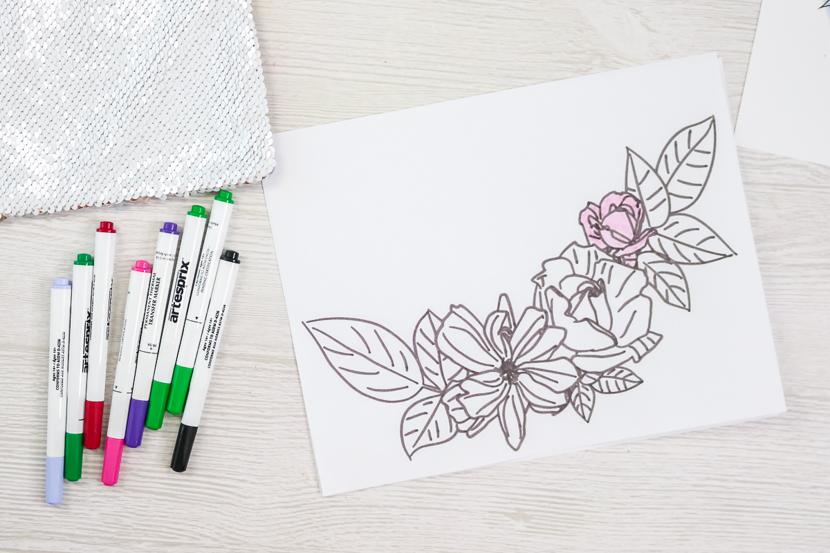 coloring with artesprix markers
