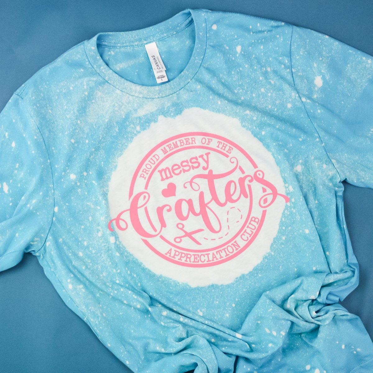 messy crafters club HTV shirt