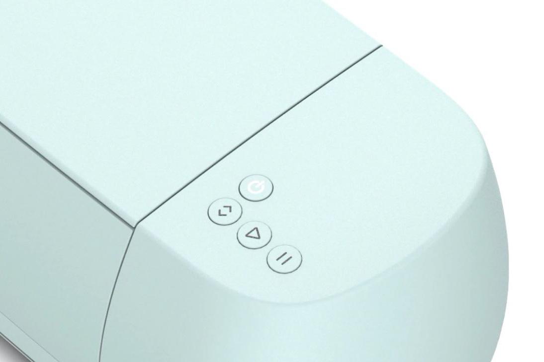 new button design on cricut explore machines